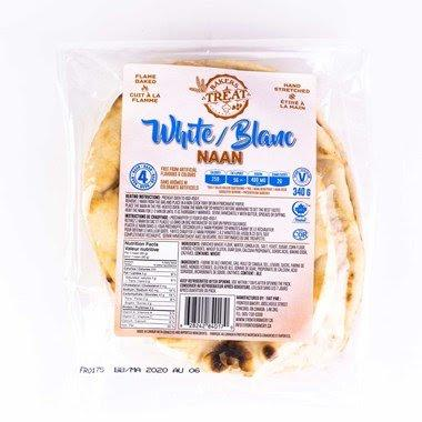 Baker's Treat Naan White 340g