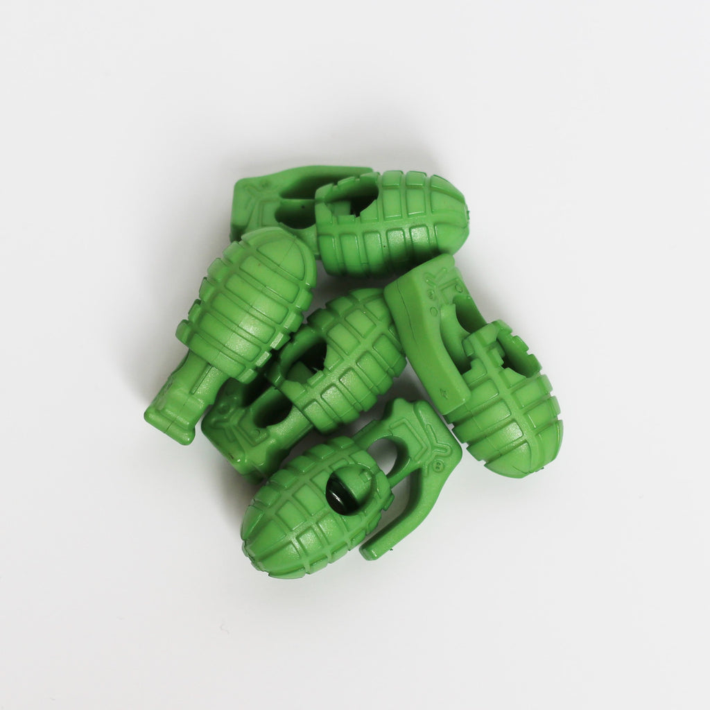 Green Grenade Lace Stoppers