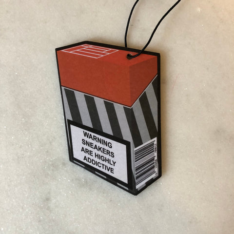 OG Nike Warning Cig Box Air Freshener