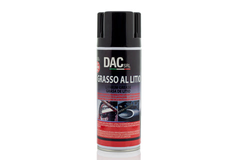 Grasa de litio profesional en spray 400 ML DAC CHEMICALS