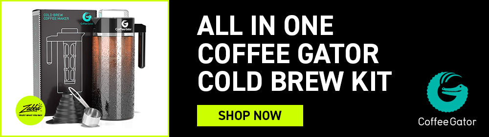 All in one Coffee Gator Cold Brew Kit