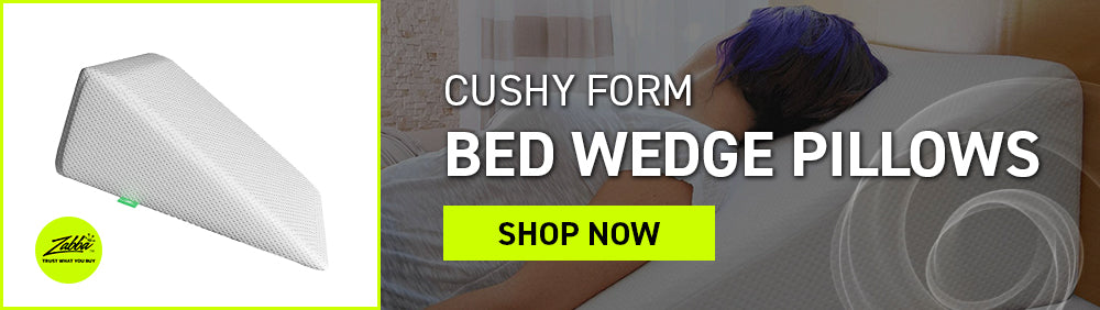 Cushy Form Bed Wedge Pillows