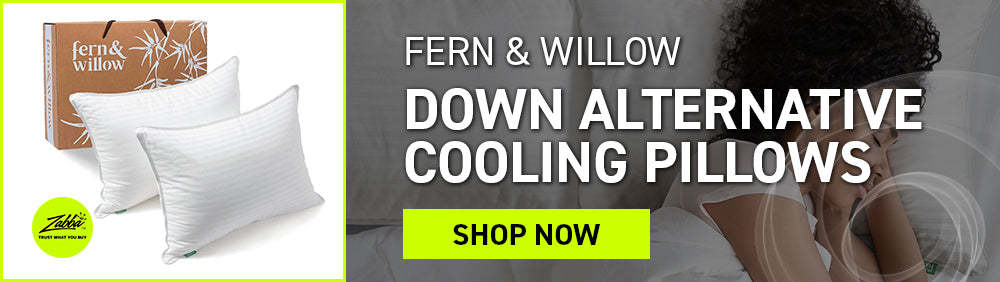 Fern & Willow Down Alternative Cooling Pillows