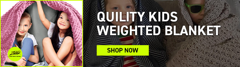 Quility kids weighted blanket