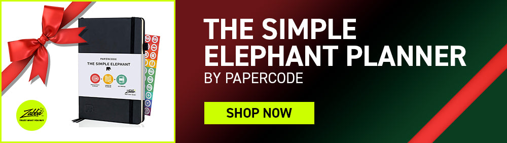 The Simple Elephant Planner by Papercode