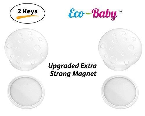 Universal Replacement Keys for Magnetic Cabinet Locks Child Safety for Drawers and Cabinets