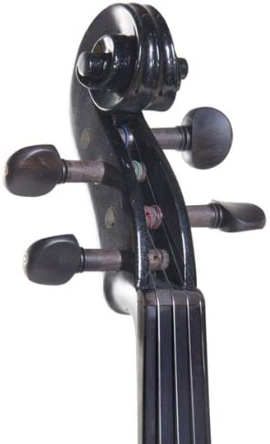 Cecilio CEVN Style 2 Silent Electric Solid Wood Violin with Ebony Fittings