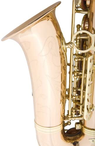 Mendini by Cecilio Eb Alto Sax w/Tuner, Case, Mouthpiece, 10 Reeds, Pocketbook and 1 Year Warranty