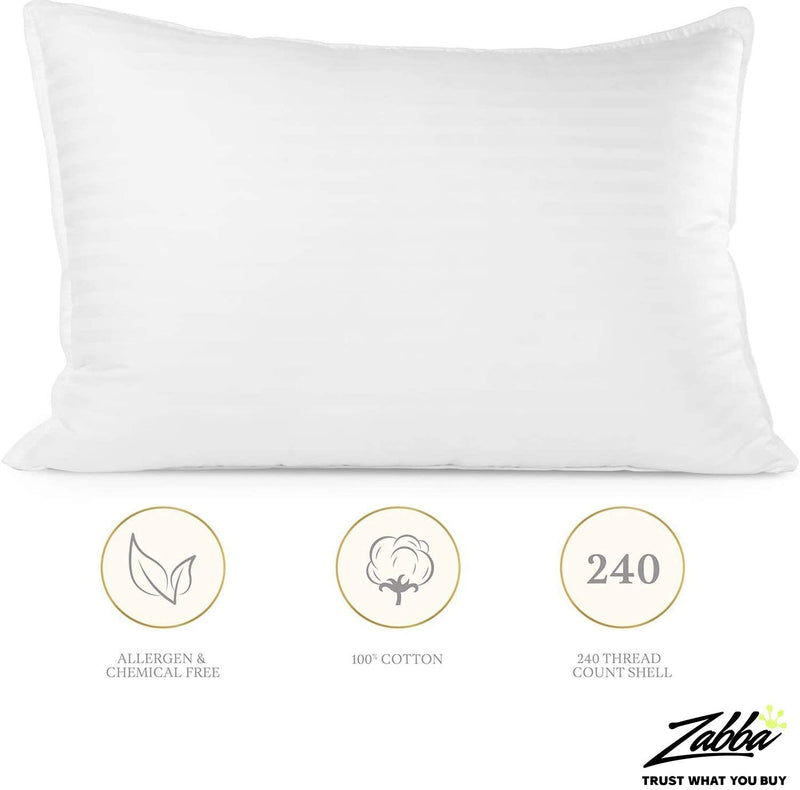 Beckham Hotel Collection Luxury Plush Gel Pillow - 2 Pack