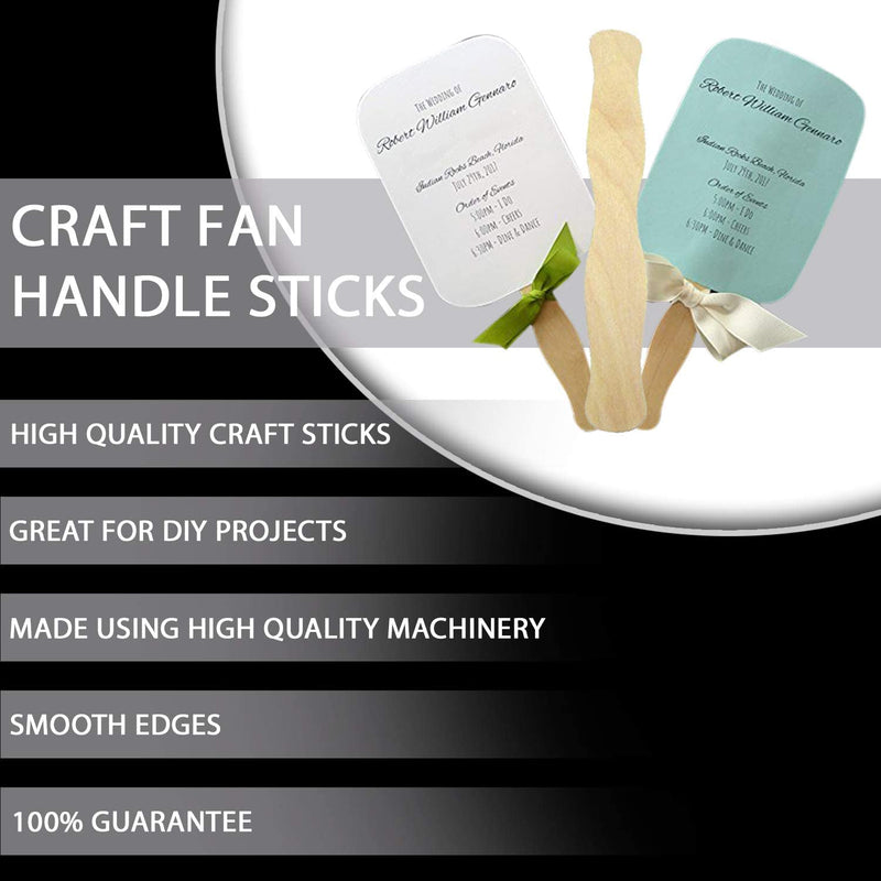 "Fedmax Craft Sticks 300pc, Jumbo 8"" Popsicles"