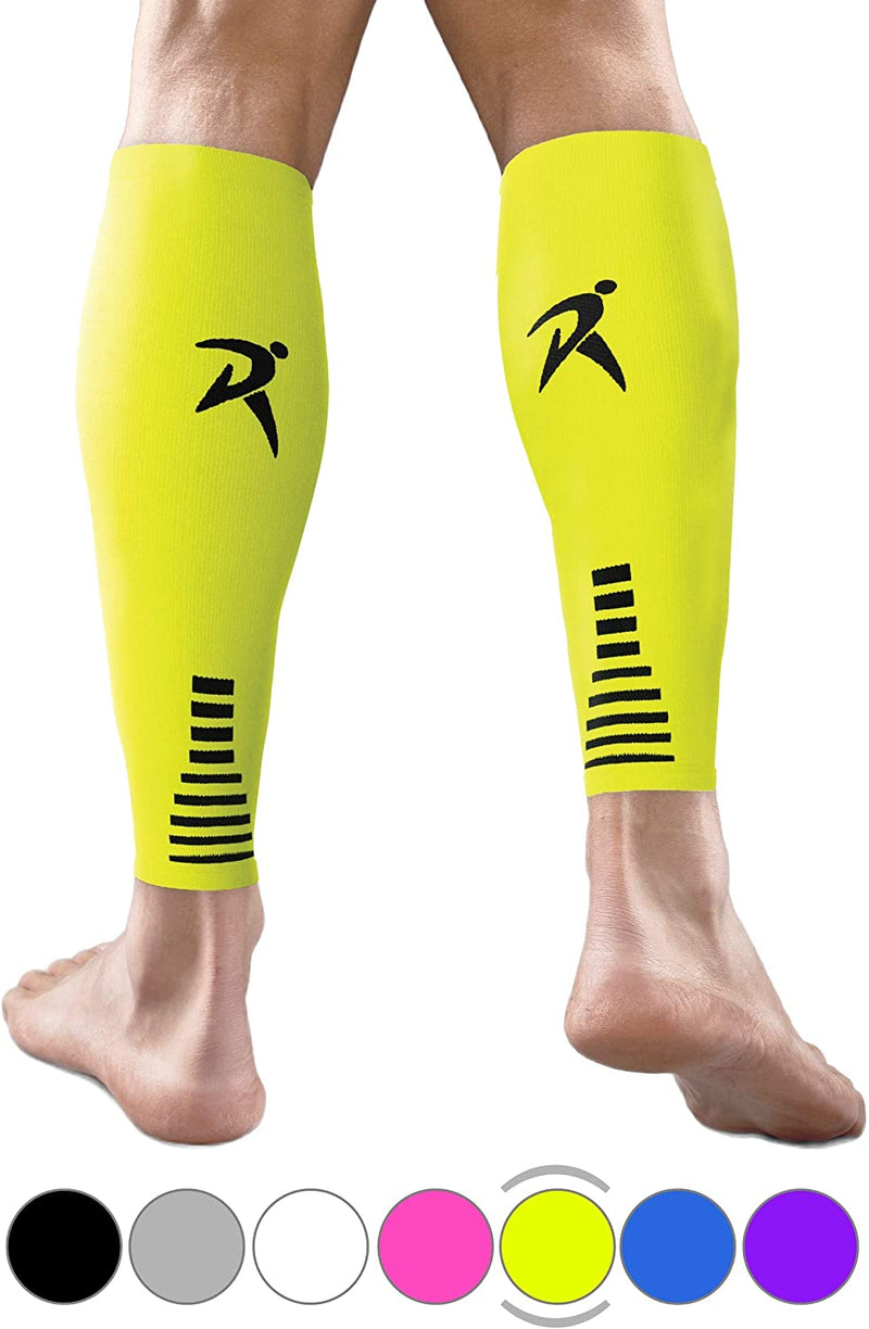 Rymora Calf Compression Sleeves for Men and Women (for Sports, Running, Shin Splints)