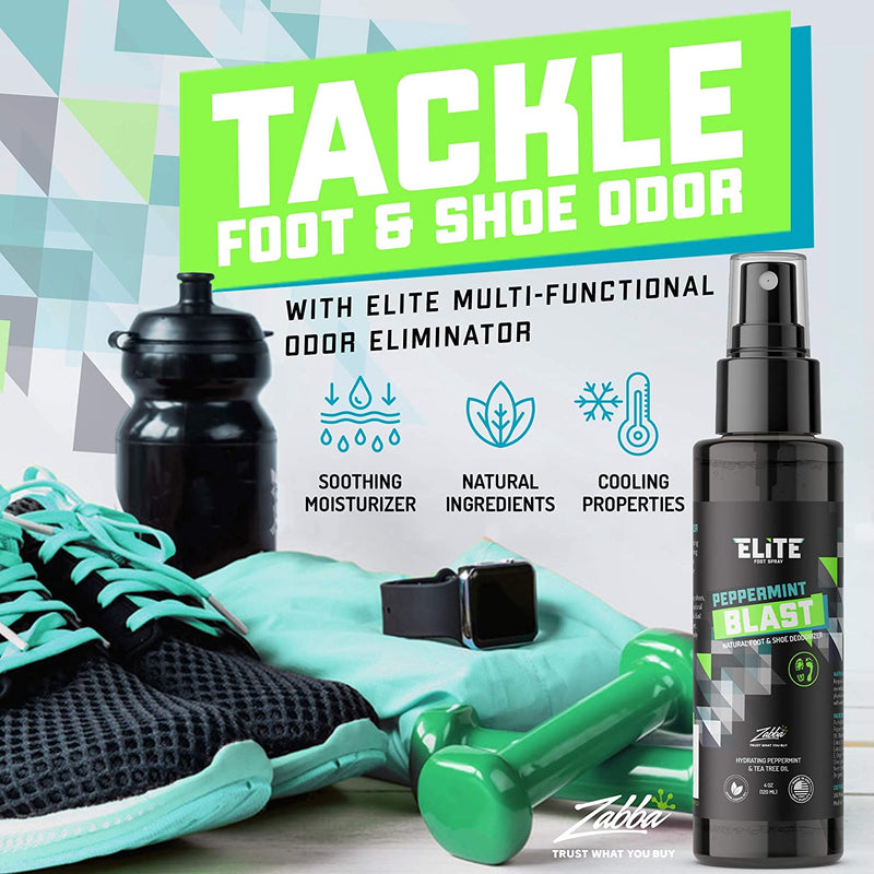 Elite Sportz Equipment Shoe Deodorizer and Foot Spray