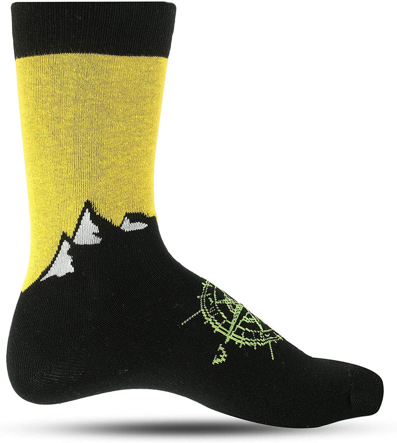 LUTHER PIKE SEATTLE Breathable Fun Socks