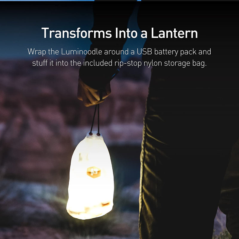 Power Practical Portable LED Light Rope and Lantern