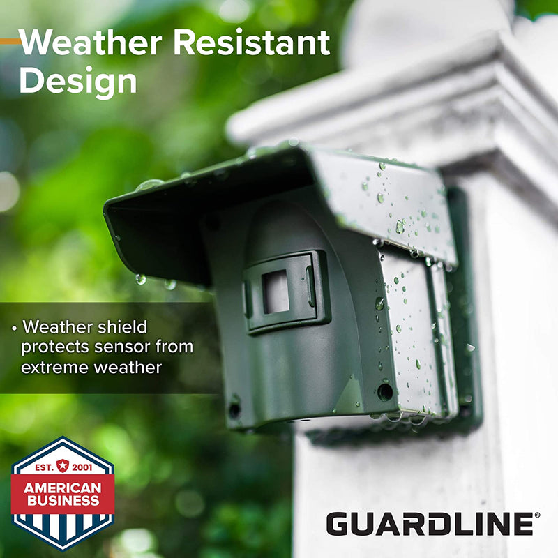 Guardline Wireless Driveway Alarm w/Two Sensors Kit