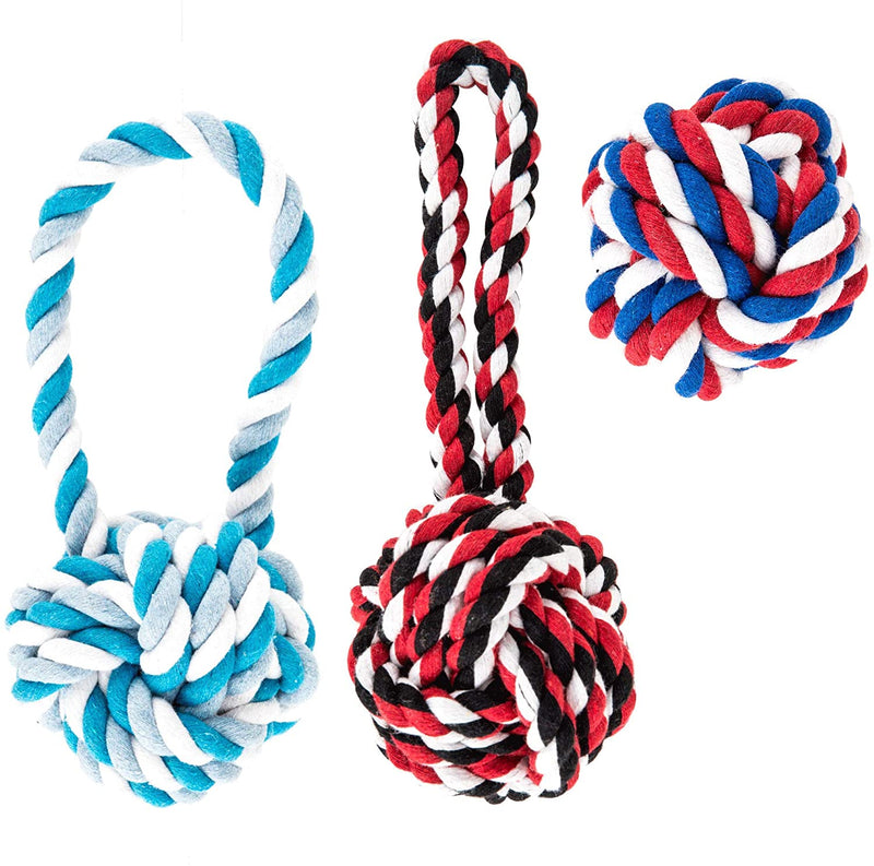 AMZpets Dog Cotton Chewing Ropes
