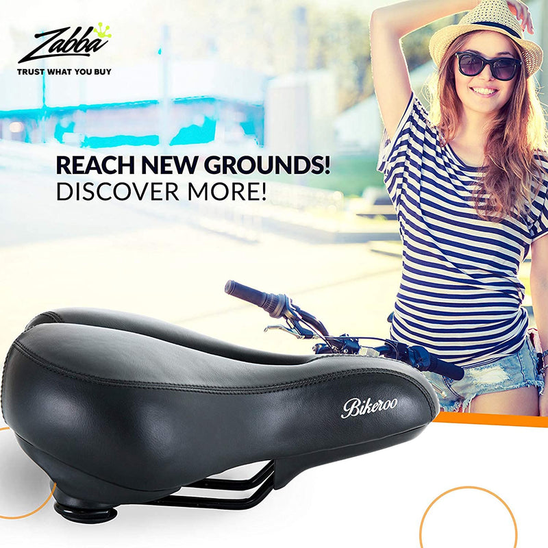 Bikeroo Padded Bicycle Saddle For Women