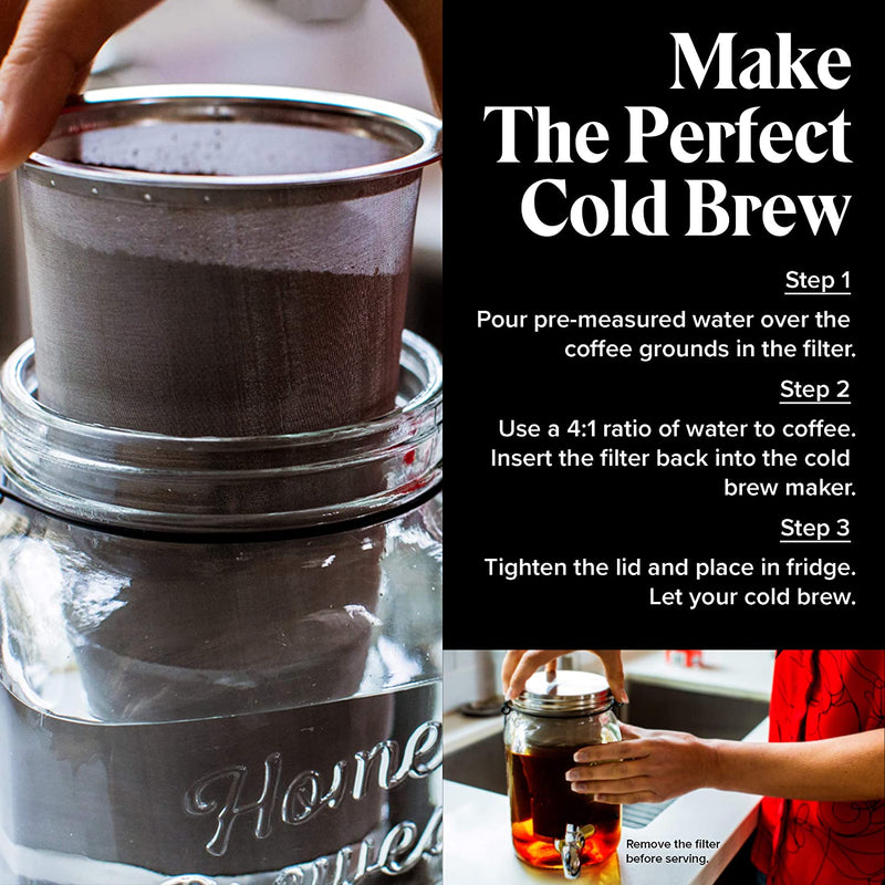Willow & Everett Original Cold Brew on Tap Cold Brew Coffee Maker