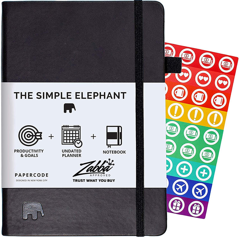Papercode Simple Elephant Planner 2020-2021