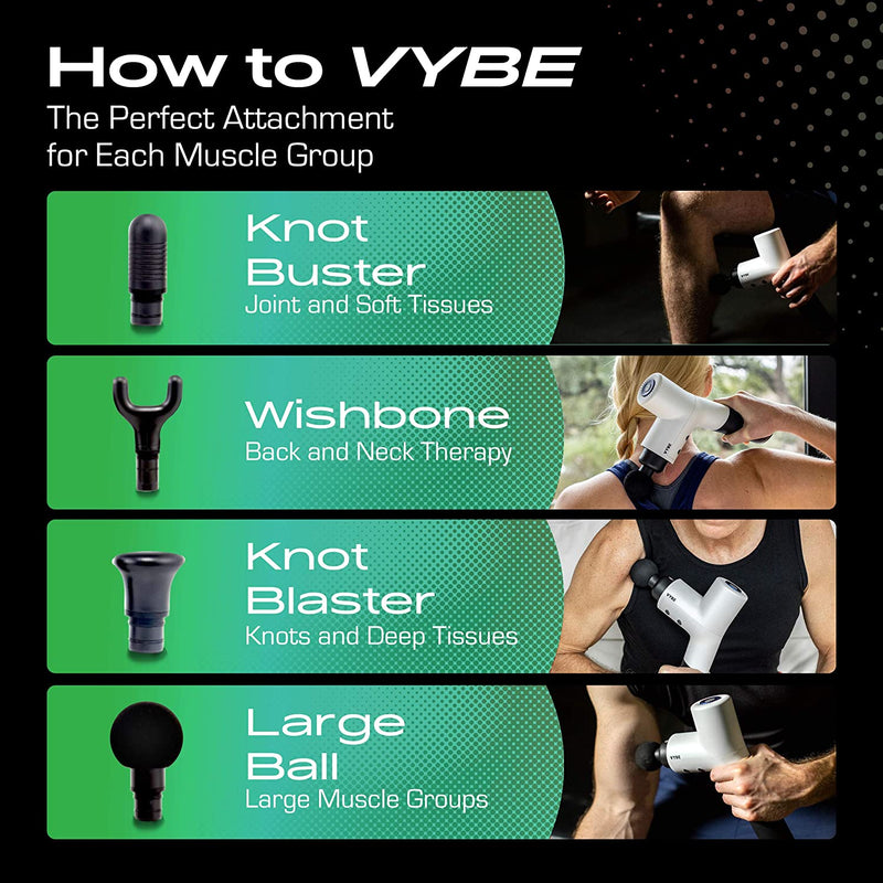 Vybe Premium Percussion Massage Gun