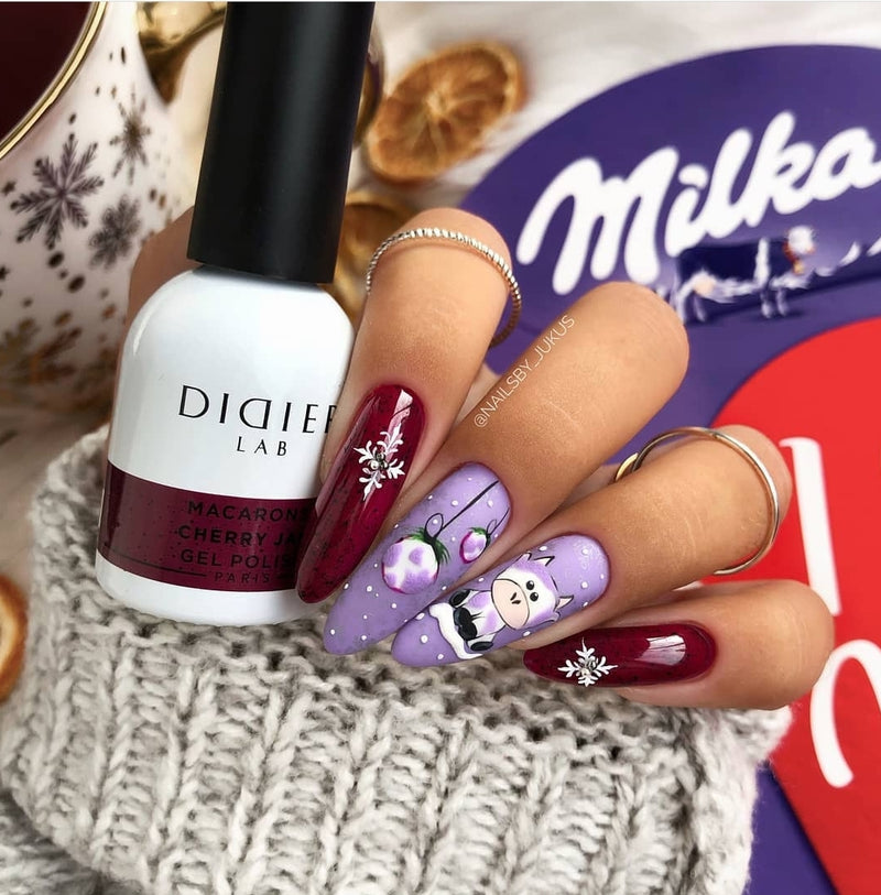 Gel Polish Didier Lab Macarons Cherry Jam 10ml