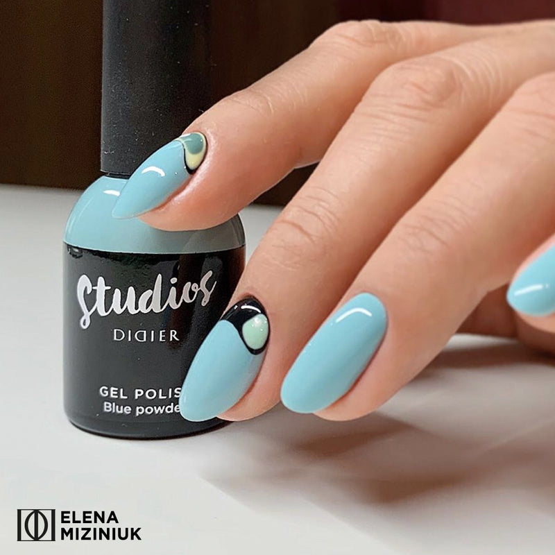 Gel polish Studios Didier  blue powder  8ml