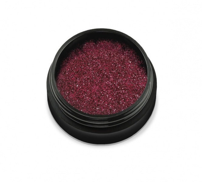 Nail glitter Didier Lab  deep red