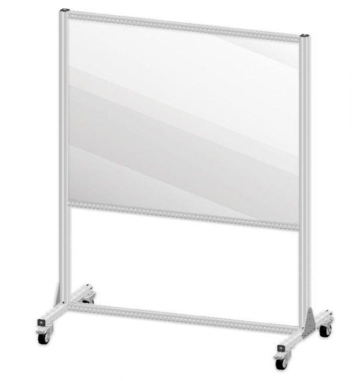 Large Mobile Partition Shield Panel