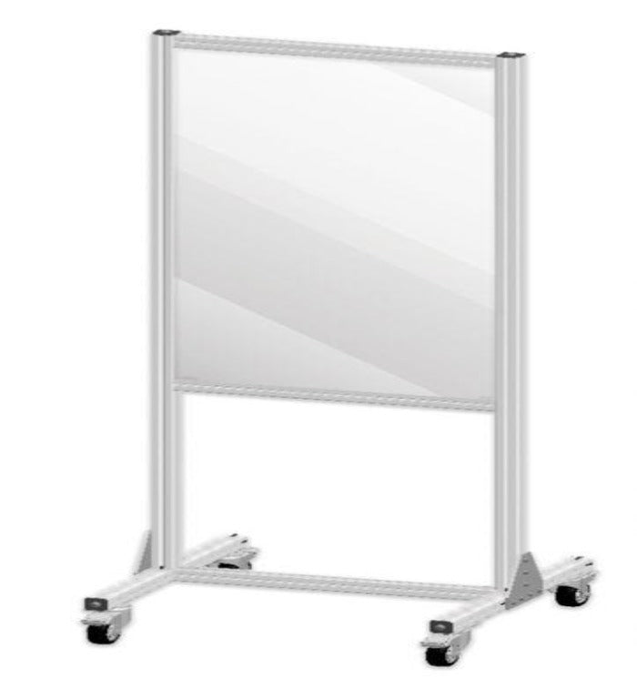 Small Mobile Partition Shield Panel