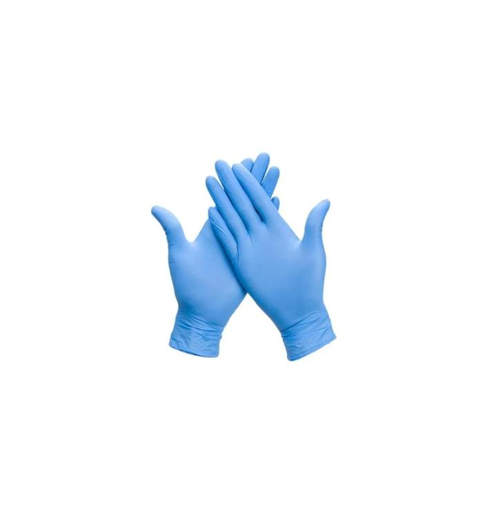 Powder Free Blue Nitrile Gloves