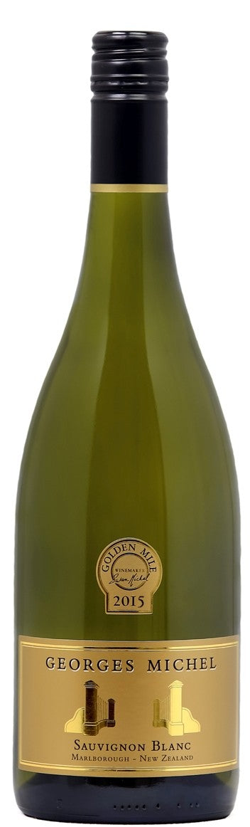 Georges Michel 'Golden Mile' Sauvignon Blanc, Marlborough, New Zealand, 2015