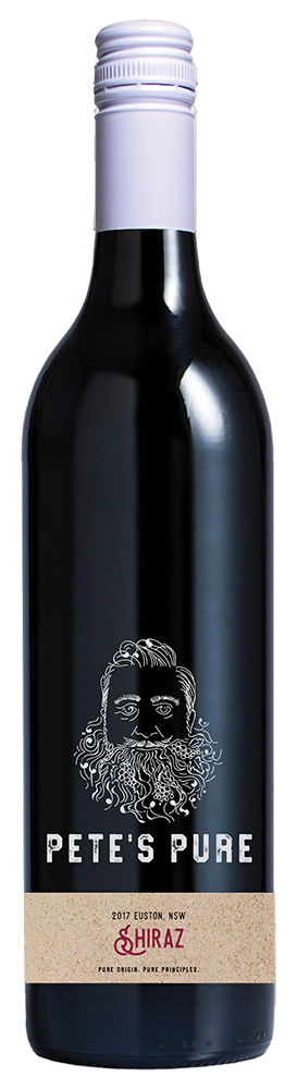 Pete's Pure Shiraz, Murray Darling, Australia