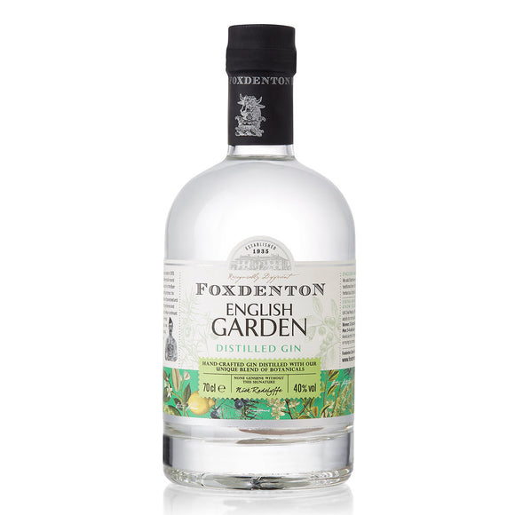 Foxdenton English Garden Gin 40% (70cl)