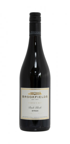 Brookfields 'Back Block' Syrah, Hawkes Bay, NZ