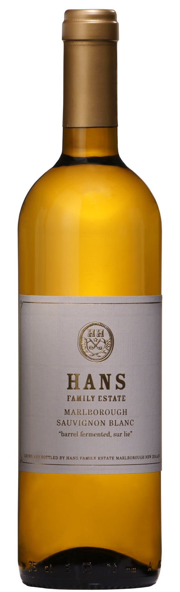 Hans Herzog Sauvignon Blanc 'Sur Lie', Marlborough, New Zealand