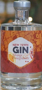 New Town Orange & Pomegranate Gin 50cl