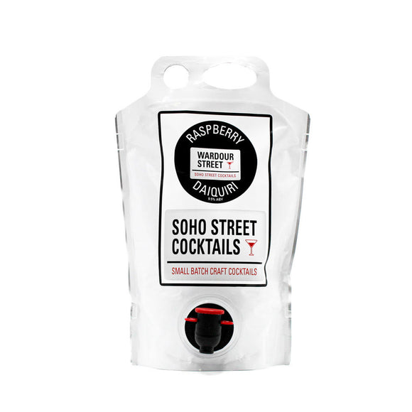 Soho Street Cocktails - Raspberry Daiquiri 1.5Ltr