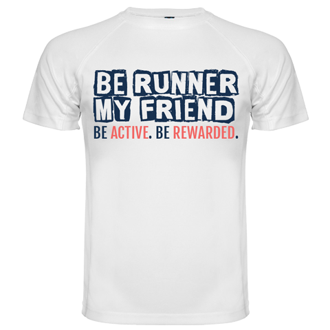 "Camiseta TÉCNICA Unisex ""BE RUNNER MY FRIEND"" - wefitter - shop"