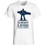 "Camiseta de chico ""To Infinity & Beyond"" - wefitter - shop"