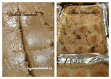 combo pack of baked sandesh and rosogolla
