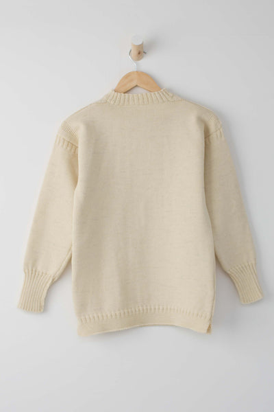 Kids Aran Traditional Guernsey Jumper
