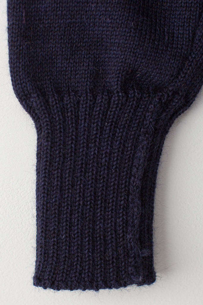 Women's Navy Blue Traditional Guernsey Jumper