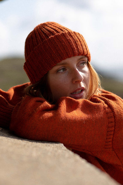 Burnt Orange Beanie