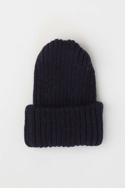 Navy Knitted Beanie
