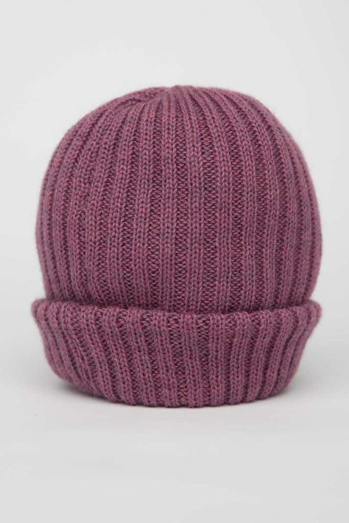 Lupin Pink Knitted Beanie