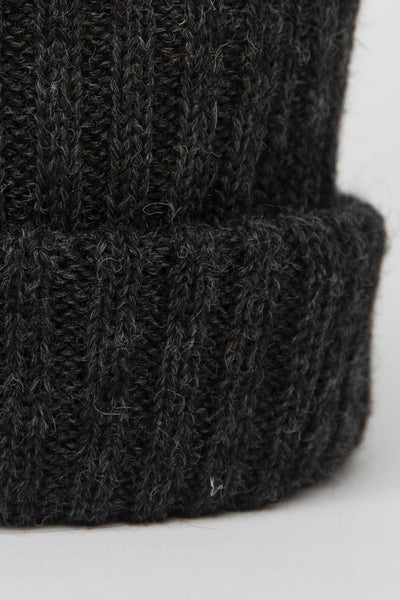 Dark Grey Knitted Beanie