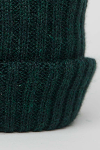 Dark Green Knitted Beanie