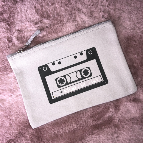 Kpop Mix Tape Makeup Bag