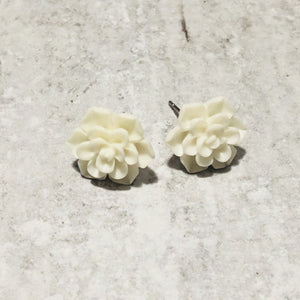 13mm succulent stud earrings - multiple colors - Bold & Bright Boutique