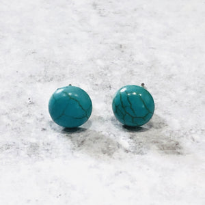 8mm Tiny Studs with stainless steel posts - Bold & Bright Boutique